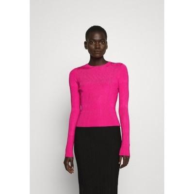 フューゴ ニット&セーター レディース アウター SWILLERY - Jumper - bright pink