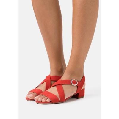 アンナフィールド レディース 靴 シューズ LEATHER - Sandals - red