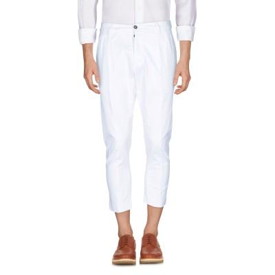 LOW BRAND パンツ ホワイト 28 コットン 97% / ポリウレタン 3% パンツ