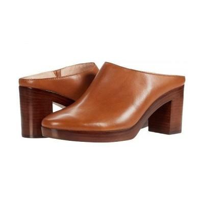 Madewell レディース 女性用 シューズ 靴 ヒール Jojo Platform Mule - English Saddle Leather
