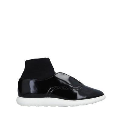 WHAT FOR レディース モカシン 靴 ブラック
