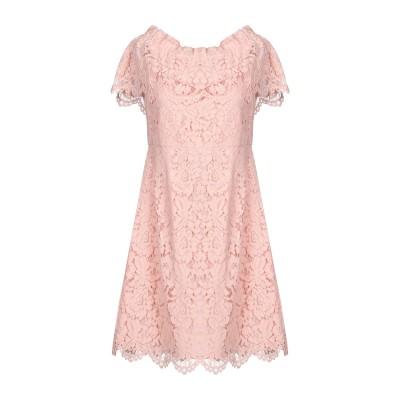 BY MALINA ミニワンピース&ドレス ピンク S ポリエステル 100% ミニワンピース&ドレス