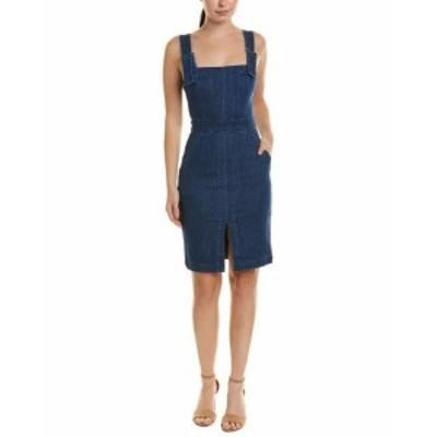 ファッション ドレス Cosette Denim Sheath Dress 0