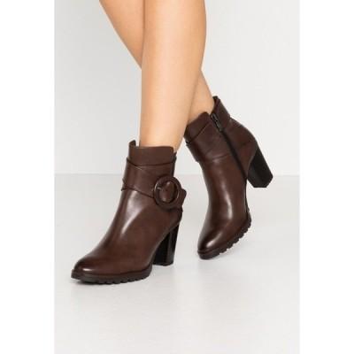 カプリス ブーツ&レインブーツ レディース シューズ Classic ankle boots - dark brown