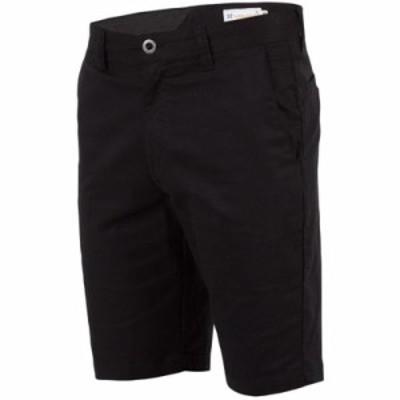 ボルコム ショートパンツ Frickin Modern Stretch Shorts Black