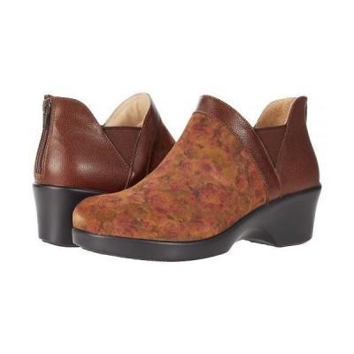 Alegria アレグリア レディース 女性用 シューズ 靴 ブーツ アンクル ショートブーツ Natalee - Cognac/Roses