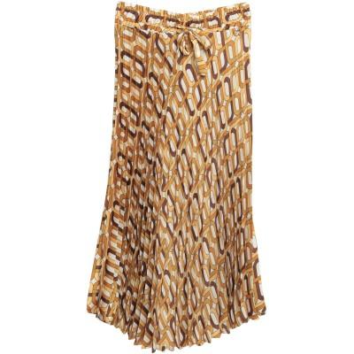 スーベニア SOUVENIR 7分丈スカート オークル XS ポリエステル 100% 7分丈スカート