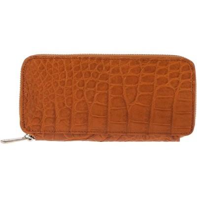 日本製本クロコダイル革 長財布 毎日 使える ラグジュアリー ワニ革 ラウンドファスナー財布 本革 イエローティ crr-drs163-ye
