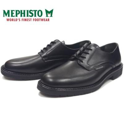 メフィスト マローン MEPHISTO MARLON 9000 BLACK プレーントゥシューズ ビジネスシューズ メンズ 本革 プレーントゥ ウォーキング ポルトガル製