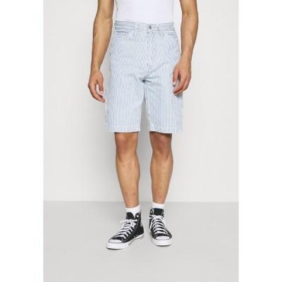リーバイス デニムパンツ メンズ ボトムス CARPENTER SHORT II - Denim shorts - multi-color