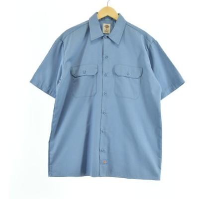 ディッキーズ Dickies 半袖 ワークシャツ メンズL 【中古】 【200628】 /eaa051633