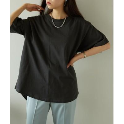 tシャツ Tシャツ 【PUBLUX/パブリュクス】BIGショルダータックデザインTシャツ