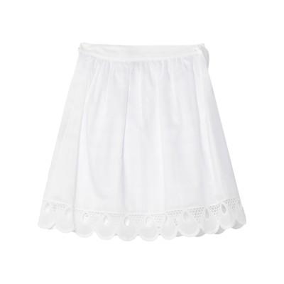 PAUL & JOE SISTER ミニスカート ホワイト 36 コットン 100% ミニスカート