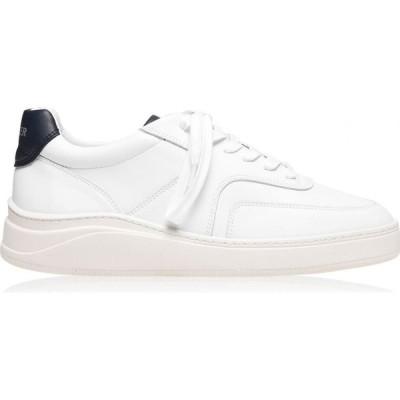 マーサー MERCER メンズ スニーカー ローカット シューズ・靴 Low Top 4.0 Trainers White/Navy