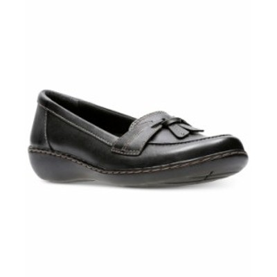 クラークス レディース パンプス シューズ Collection Women's Ashland Bubble Flats Black Leather