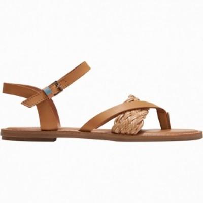 トムス Toms レディース サンダル・ミュール シューズ・靴 Lexie Sandal Honey Leather/Synthetic Braid
