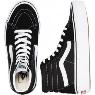 ヴァンズ Vans レディース スケートボード シューズ・靴 - Sk8 Hi Platform 2.0 Black/True White black
