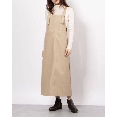 フレーム Frame フェイクレザージャンスカート (ブラウン)