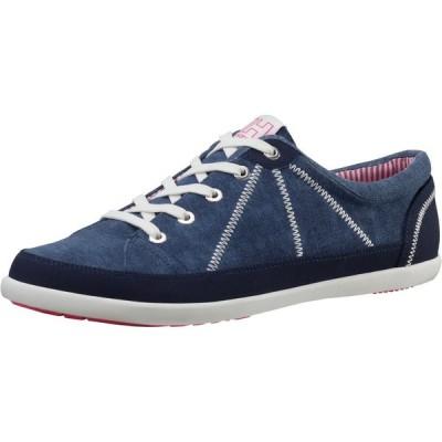 ウエスタン フラッツ オックスフォード フラット 靴 ヘリーハンセン Helly Hansen アスレチック シューズ レディース Latitude 92 キャンバス ラバー 11124
