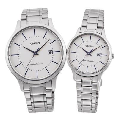 (ペアウォッチセット)オリエント ORIENT 腕時計 RH-QD0012S・RH-QA0012S コンテンポラリー CONTEMPORARY ペアモデル ホワイト クオーツ(国内正規品)