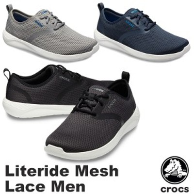 【送料無料】クロックス(CROCS) ライトライド メッシュ レース メン(literide mesh lace men)【男性用】[BB]【20】