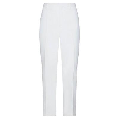 HUGO HUGO BOSS パンツ ホワイト 42 コットン 97% / ポリウレタン 3% パンツ