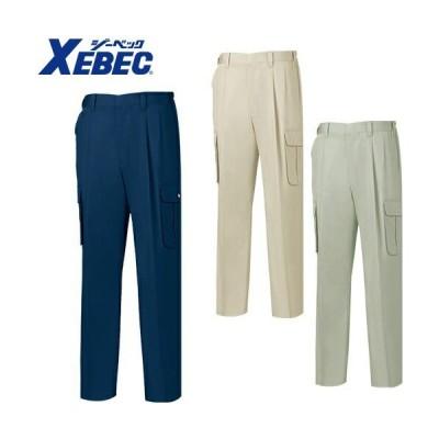ジーベック XEBEC ZIPリサイクリーン ツータックラットズボン 3196
