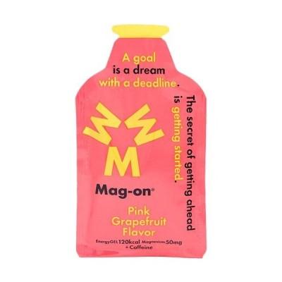 マグオン(Mag-on) マグネシウムチャージサプリメント エナジージェル ピンクグレープフルーツ味 12個セット TW210232 水溶性マグネシウム ゼリー飲料