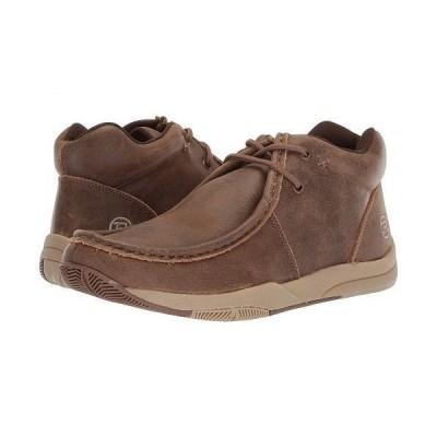 Roper ローパー メンズ 男性用 シューズ 靴 ブーツ チャッカブーツ Clearcut - Brown Vintage Leather
