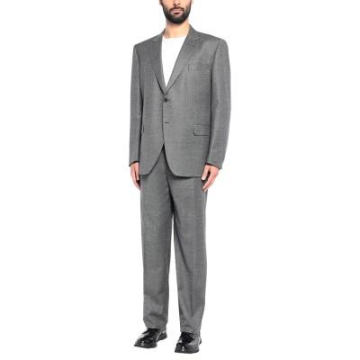 TOMBOLINI スーツ 鉛色 60 バージンウール 100% スーツ
