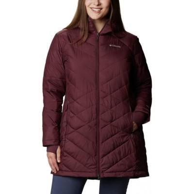 コロンビア Columbia レディース ジャケット フード 大きいサイズ アウター Plus Size Heavenly Long Hooded Jacket Seminole