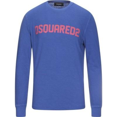 ディースクエアード DSQUARED2 メンズ Tシャツ トップス T-Shirt Blue