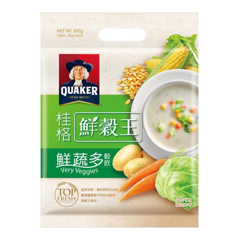桂格鮮榖王鮮蔬多穀飲