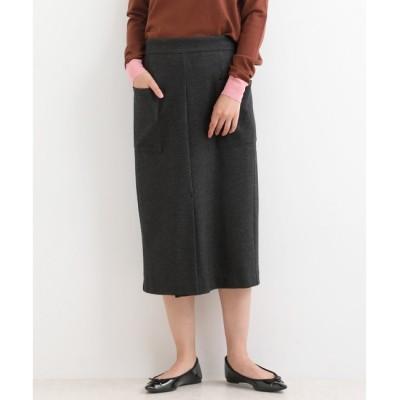 【マリン フランセーズ/LA MARINE FRANCAISE】 ストレッチポンチタイトスカート