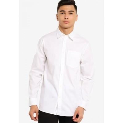 カルバンクライン Calvin Klein メンズ シャツ トップス Ad-Mix Md Reg Shirt Bright White