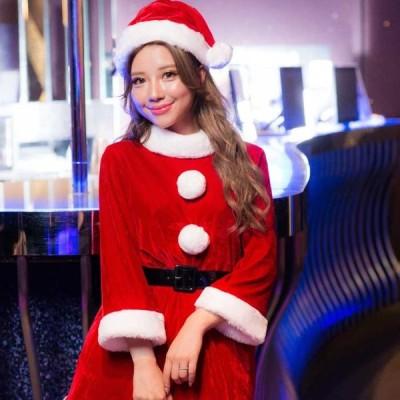 クリスマス コスプレ サンタ レ ディース コスチューム 女子 大 人用 衣装