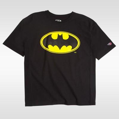 ヘビーウェイトコットン ハーフスリーブ BATMANBATMAN Tシャツ メンズ Mens Tshirt 半袖 半そで 無地 半袖Tシャツ プリント