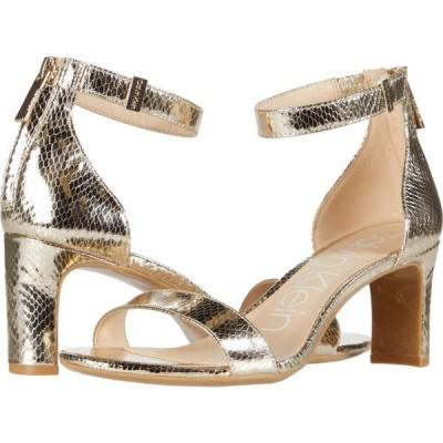 カルバンクライン Calvin Klein レディース サンダル・ミュール シューズ・靴 Chandari Champagne