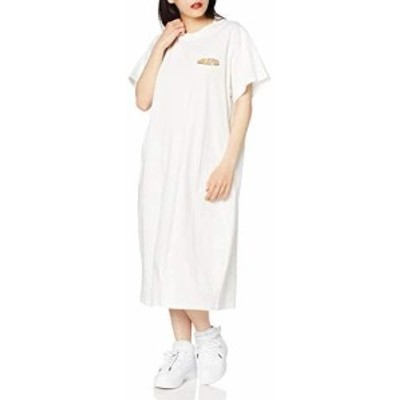 [MILKFED.] 103201041071 ロゴドレス OBLONG LOGO DRESS レディース ホワイト 日本 ONE SIZE (FREE サイズ)