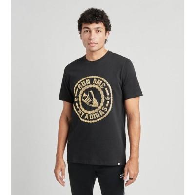 アディダス Adidas メンズ Tシャツ トップス run dmc short sleeve tee BLACK