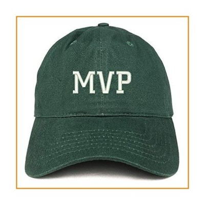 Trendy Apparel Shop MVP Embroidered Unstructured Cotton Dad Hat - Hunter_並行輸入品