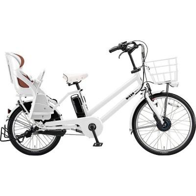 【防犯登録サービス中】ブリヂストン 電動アシスト自転車 bikke GRI BG0B40 E.XBKホワイト