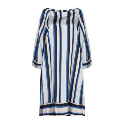 ROSSO35 ミニワンピース&ドレス ベージュ 42 レーヨン 60% / キュプラ 40% ミニワンピース&ドレス