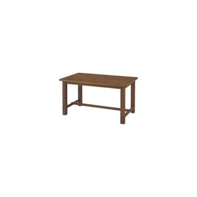 東谷 あづまや メーカー直送代引不可  135×80cm クーパス 天然木 ダイニングテーブル ブラウン VET-637