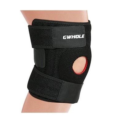 GWHOLE 膝固定 関節靭帯保護 男女問わず フリーサイズ 怪我防止 ニーガード 登山 ランニング