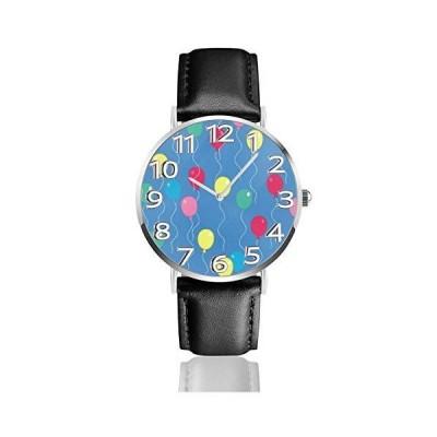 腕時計 風船 ウオッチ クラシック カジュアル 防水 クォーツムーブメント レザー ベルトビジネス オフィス 学?