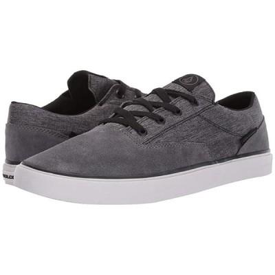 ボルコム Draw Lo Suede Shoes メンズ スニーカー 靴 シューズ Grey