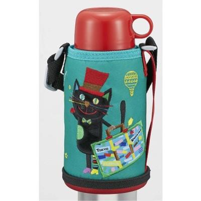 タイガー魔法瓶(TIGER) マグボトル レッド 600ml タイガー 水筒 コロボックル キネコ国際映画祭コラボモデル MBR-K06G-