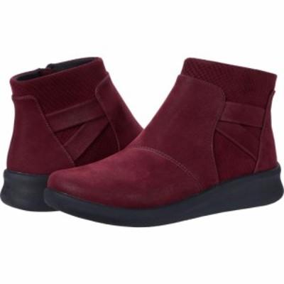 クラークス Clarks レディース ブーツ シューズ・靴 Sillian 2.0 Hi Burgundy Synthetic