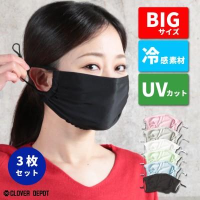 即納 マスク 冷感 3枚 接触冷感 アイスシルク ひんやり マスク 布マスク 夏用マスク 洗えるマスク 在庫あり 洗える 生地 涼しい 超快適マスク 夏 個包装 おしゃれ かわいい 布 マスク クール